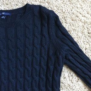 Gap Navy knit sweater